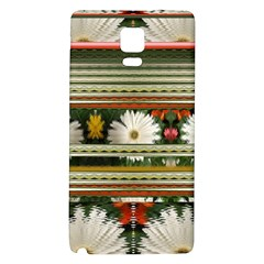 Pattern Flower  Galaxy Note 4 Back Case