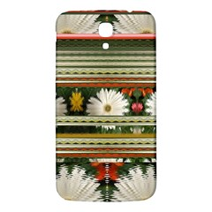 Pattern Flower  Samsung Galaxy Mega I9200 Hardshell Back Case