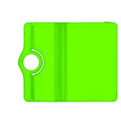 Bright Fluorescent Neon Green Kindle Fire HDX 8.9  Flip 360 Case