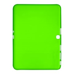 Bright Fluorescent Neon Green Samsung Galaxy Tab 4 (10.1 ) Hardshell Case