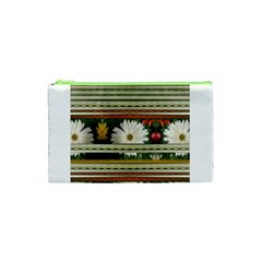 Pattern Flower  Cosmetic Bag (xs)