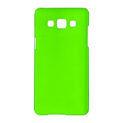 Bright Fluorescent Neon Green Samsung Galaxy A5 Hardshell Case