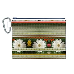 Pattern Bags Canvas Cosmetic Bag (L)