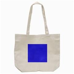 Neon Blue Tote Bag (Cream)