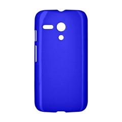 Neon Blue Motorola Moto G