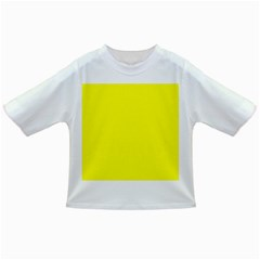 Bright Fluorescent Yellow Neon Infant/Toddler T-Shirts