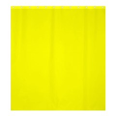 Bright Fluorescent Yellow Neon Shower Curtain 66  x 72  (Large)