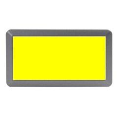 Bright Fluorescent Yellow Neon Memory Card Reader (Mini)
