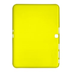 Bright Fluorescent Yellow Neon Samsung Galaxy Tab 4 (10.1 ) Hardshell Case