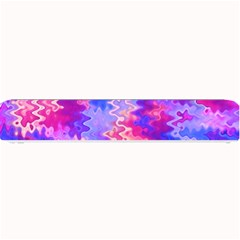 Pink and Purple Marble Waves Small Bar Mats