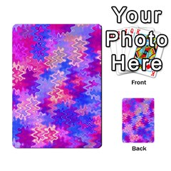 Pink and Purple Marble Waves Multi-purpose Cards (Rectangle)