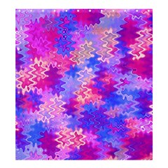 Pink And Purple Marble Waves Shower Curtain 66  X 72  (large)