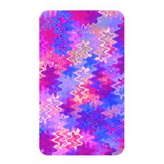 Pink and Purple Marble Waves Memory Card Reader