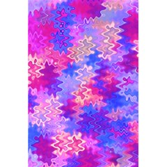 Pink And Purple Marble Waves 5 5  X 8 5  Notebooks