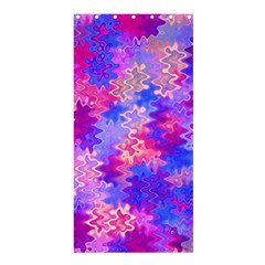 Pink and Purple Marble Waves Shower Curtain 36  x 72  (Stall)