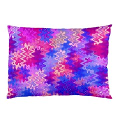 Pink and Purple Marble Waves Pillow Cases (Two Sides)