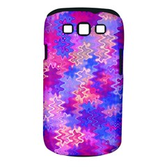 Pink and Purple Marble Waves Samsung Galaxy S III Classic Hardshell Case (PC+Silicone)