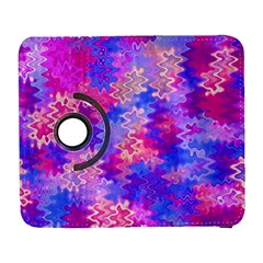 Pink And Purple Marble Waves Samsung Galaxy S  Iii Flip 360 Case