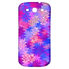 Pink And Purple Marble Waves Samsung Galaxy S3 S Iii Classic Hardshell Back Case