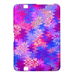 Pink And Purple Marble Waves Kindle Fire Hd 8 9