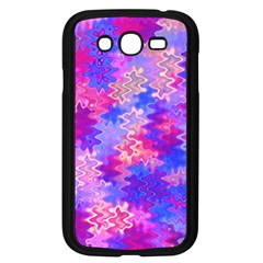 Pink And Purple Marble Waves Samsung Galaxy Grand Duos I9082 Case (black)