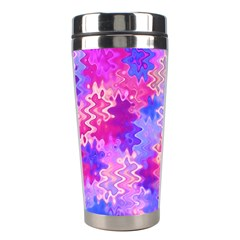 Pink And Purple Marble Waves Stainless Steel Travel Tumblers