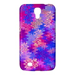 Pink And Purple Marble Waves Samsung Galaxy Mega 6 3  I9200 Hardshell Case
