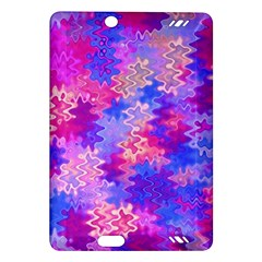 Pink and Purple Marble Waves Kindle Fire HD (2013) Hardshell Case