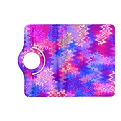 Pink And Purple Marble Waves Kindle Fire Hd (2013) Flip 360 Case