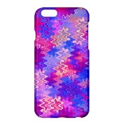 Pink And Purple Marble Waves Apple Iphone 6 Plus Hardshell Case