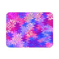 Pink And Purple Marble Waves Double Sided Flano Blanket (mini)