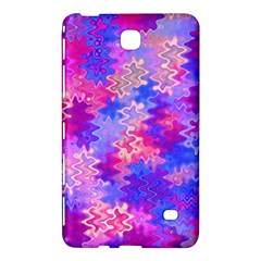 Pink And Purple Marble Waves Samsung Galaxy Tab 4 (7 ) Hardshell Case