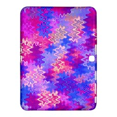 Pink and Purple Marble Waves Samsung Galaxy Tab 4 (10.1 ) Hardshell Case