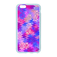 Pink and Purple Marble Waves Apple Seamless iPhone 6 Case (Color)