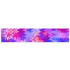 Pink And Purple Marble Waves Flano Scarf (small)