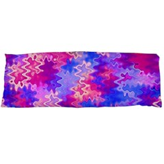 Pink And Purple Marble Waves Body Pillow Cases Dakimakura (two Sides)