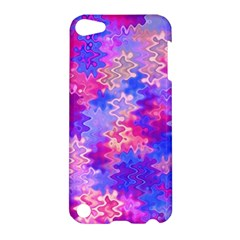 Pink And Purple Marble Waves Apple Ipod Touch 5 Hardshell Case