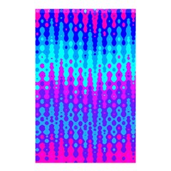 Melting Blues And Pinks Shower Curtain 48  X 72  (small)