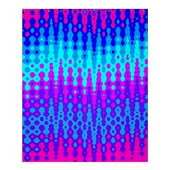Melting Blues And Pinks Shower Curtain 60  X 72  (medium)