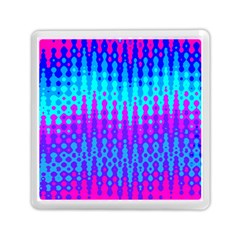Melting Blues and Pinks Memory Card Reader (Square)