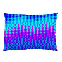 Melting Blues and Pinks Pillow Cases (Two Sides)