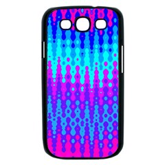 Melting Blues and Pinks Samsung Galaxy S III Case (Black)