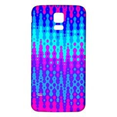Melting Blues And Pinks Samsung Galaxy S5 Back Case (white)