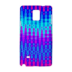 Melting Blues and Pinks Samsung Galaxy Note 4 Hardshell Case