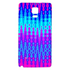 Melting Blues and Pinks Galaxy Note 4 Back Case
