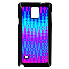 Melting Blues and Pinks Samsung Galaxy Note 4 Case (Black)