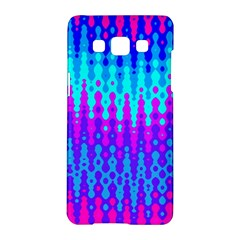 Melting Blues and Pinks Samsung Galaxy A5 Hardshell Case