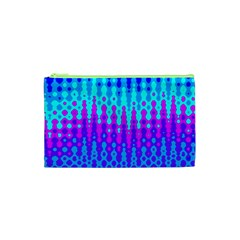 Melting Blues And Pinks Cosmetic Bag (xs)