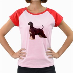 Afghan Hound Full Women s Cap Sleeve T-Shirt