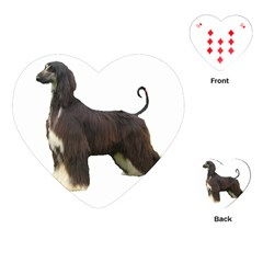 Afghan Hound Full Playing Cards (Heart)